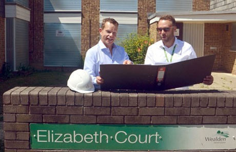 Elizabeth Court – Work has begun