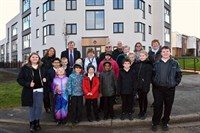New council flats ready in time for Christmas!